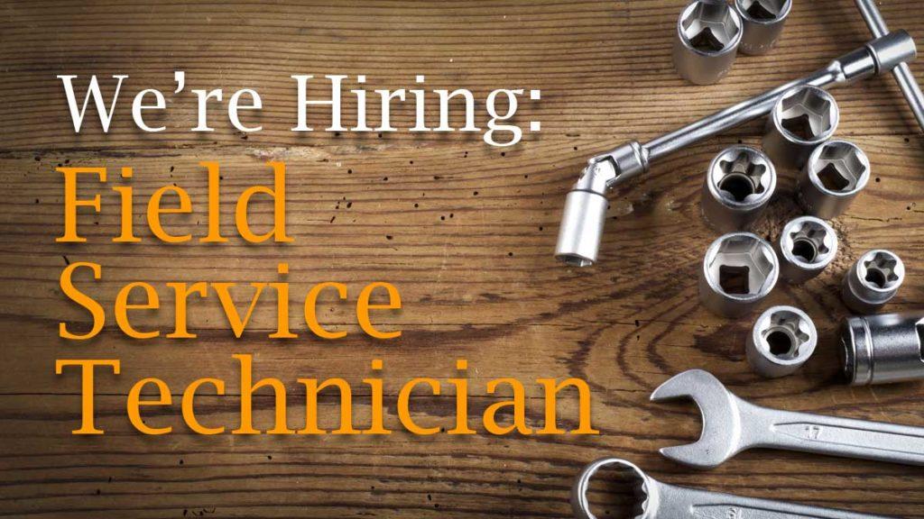 Job Post for Field Service Technician