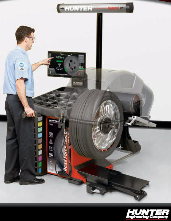 roadforce touch wheel balancer