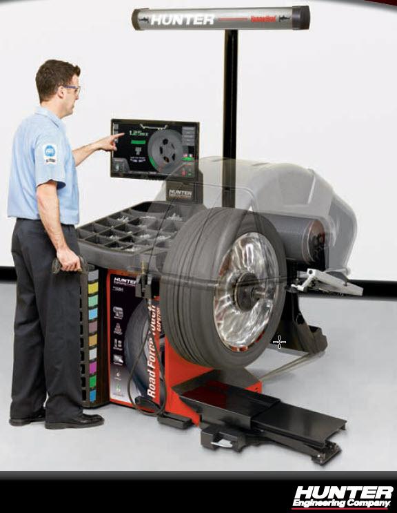roadforce touch wheel balancer